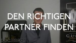 Partner finden (den richtigen Partner finden)